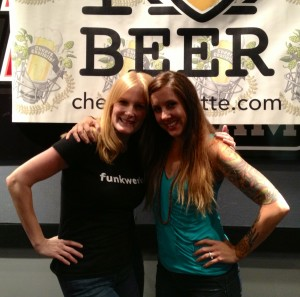 Tracie and Ashley- The Charlotte Beer Babes
