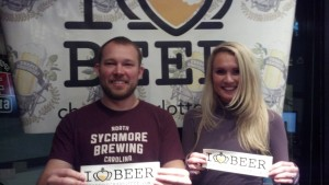 Justin and Sarah Brigham of Sycamore Brewing