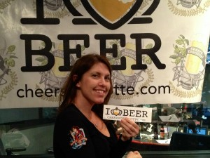 Stephanie Carson of All Ale To The Queen Beer Festival