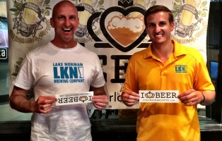 Mike Prascak and Andy Prascak from Lake Norman Brewing