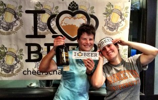 Brandee Winkler and Kristen Knox from The Beer Growler- Charlotte
