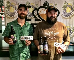 Scott Kimball and Chris Harker from Triple C Brewing.