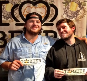 Townes Mozer and John Watkins from Lenny Boy Brewing Co