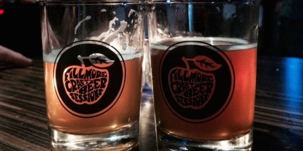 fillmore craft beer sessions glasses