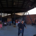 Panorama of the outdoor space