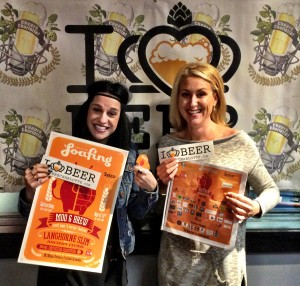Corri Smith and Amy Mularski from Moo and Brew Craft Beer & Burger Festival
