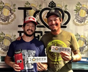 Jeff and Jason Alexander from Free Range Brewing