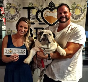 Casey Hoffman and Rob Johnson from Bulldog Beer and Wine