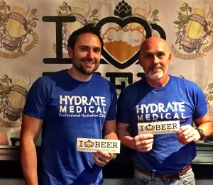 Jon Leake and Keith Parris from Hydrate Medical