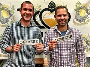Greg Forehand and Josh Mckinney from Ekos Brewmaster