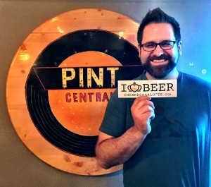 Nate DeVillers runs things over at Pint Central
