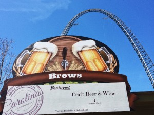Craft beer + roller coasters.