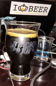 Belgian Hybrid Glass great for a variety of stouts and belgian dark ales