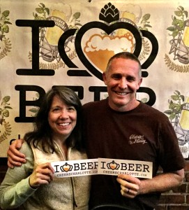 Joanne Young and Randall York of Charlotte's own Cloister Honey